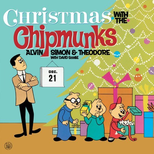 front cover art - Alvin And The Chipmunks Christmas Songs