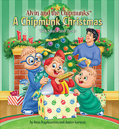 front cover art - Alvin And The Chipmunks Christmas