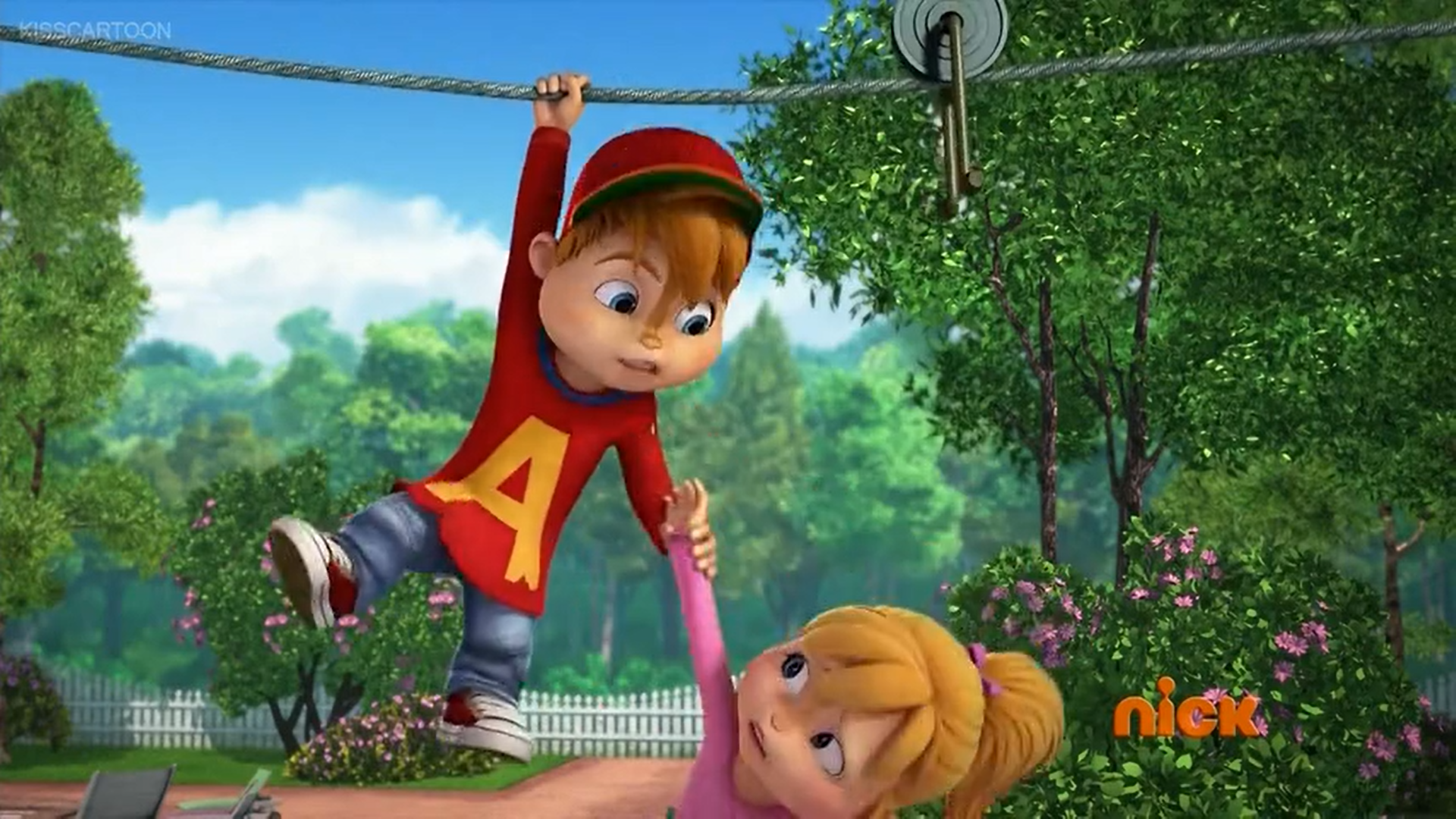 Alvinnn And The Chipmunks Brittany And Alvin knights | alvin and the chipmunks wiki | fandom