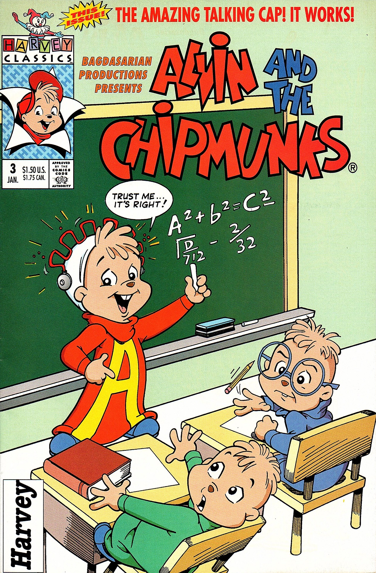 Alvin And The Chipmunks 3 Images alvin and the chipmunks harvey classics 3 | alvin and the