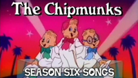 The Chipmunks Season Six Songs Card