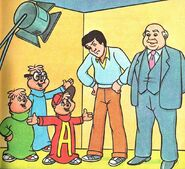 The TV Chipmunks Illustration 3