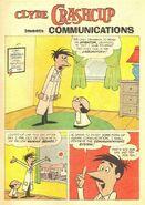 Clyde Crashcup Dell Comic 2 - Invents Communications