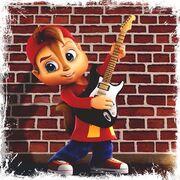 Alvin with Guitar Artwork