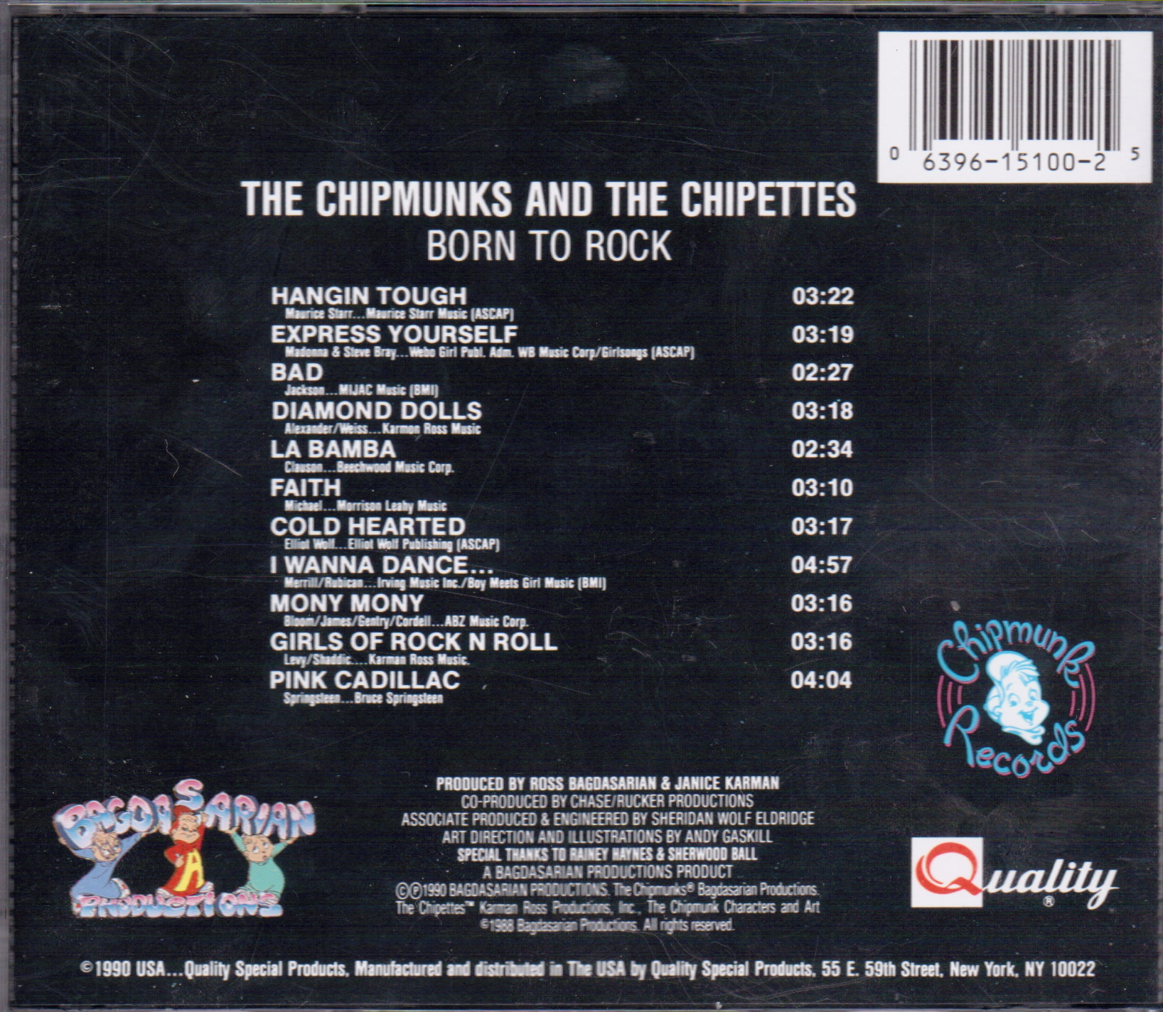 image born to rock cd back cover jpeg alvin and the chipmunks