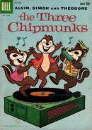 The Three Chipmunks Dell Comic Oct-Dec 1959