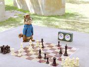 Simon Playing Chess