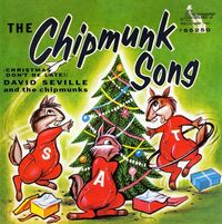 The Chipmunk Song Cover Art