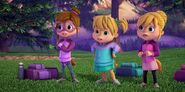 The Chipettes in Girls Night Out