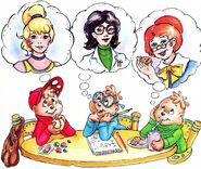A Mother for The Chipmunks Illustration 1