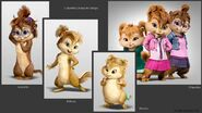Chipettes Character Design