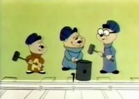 The Chipmunks in Working on the Railroad