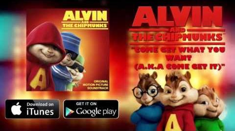 Come Get It-Alvin & The Chipmunks Rebecca Jones