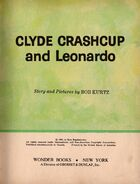 Clyde Crashcup and Leonardo Title Page
