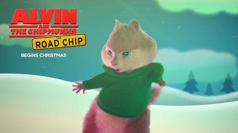 "Alvin and the Chipmunks The Road Chip ""I Want Chipmunks for Christmas"" HD 20th Century FOX"