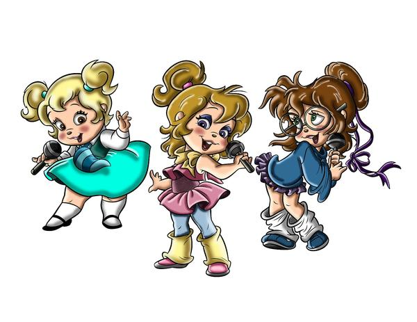 The Chipettes Alvin And The Chipmunks Wiki Fandom Powered By Wikia