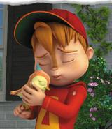 Alvin's New Friend Illustration 3