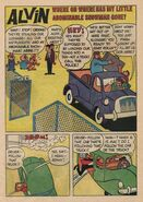 Alvin Dell Comic 12 - Where Oh Where Has My Little Abominable Snowman Gone