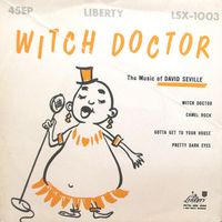Witch Doctor 45EP Cover