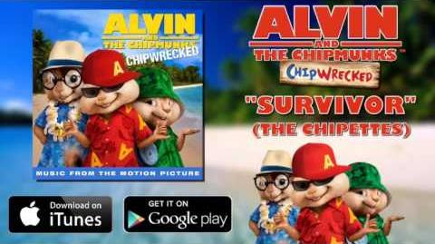 The Chipmunks & The Chipettes - Survivor (with lyrics)