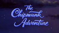 The Chipmunk Adventure Film Songs Card