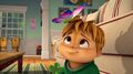 Theodore and a butterfly in Lucky Day.jpg
