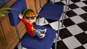 Alvin on a Chair