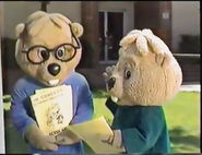 Simon and Theodore in Alvin Goes Back to School