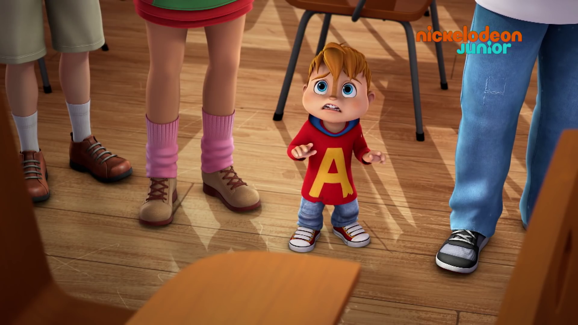 Alvinnn And The Chipmunks Brittany And Alvin school alone | alvin and the chipmunks wiki | fandom