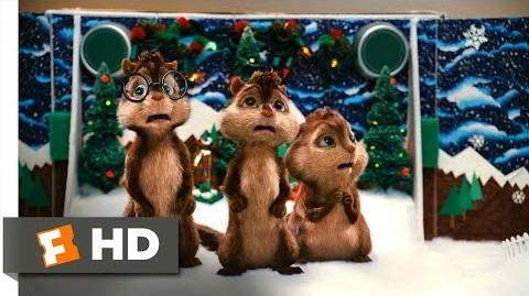 Alvin and the Chipmunks (2007) - Christmas Don't Be Late Scene (3 5) Movieclips