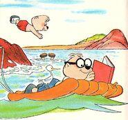 The Ocean Blues Illustration 1
