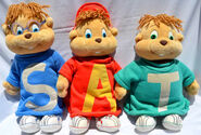 The chipmunks dayton hudson plush