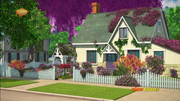 Miss Miller's house in the CGI series