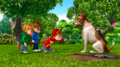 The Chipmunks and Tootsie-Bella in Doggone It.png