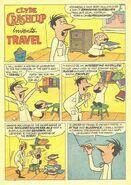 Clyde Crashcup Dell Comic 5 - Invents Travel