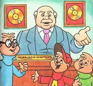 The TV Chipmunks Illustration 2