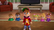 The Chipmunks and Chipettes in World Record