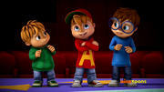 The Chipmunks in Game Show