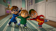 The Chipmunks in To Serve And Protect