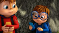 Alvin and Simon with smartphones.png