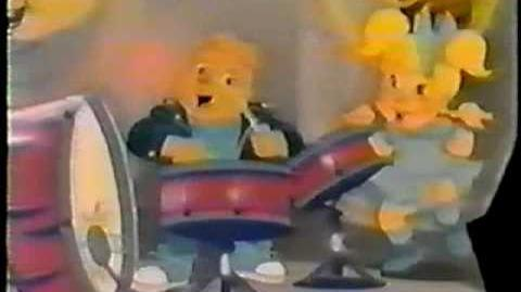 80's Hardee's Alvin and the Chipmunks Glass Commercial