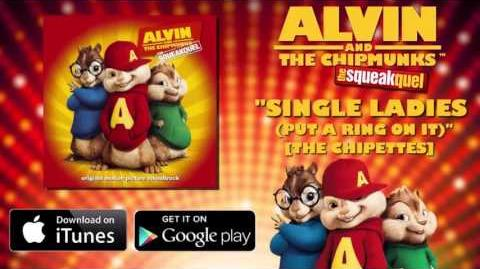 Single Ladies (Put a Ring on It) | Alvin and the Chipmunks