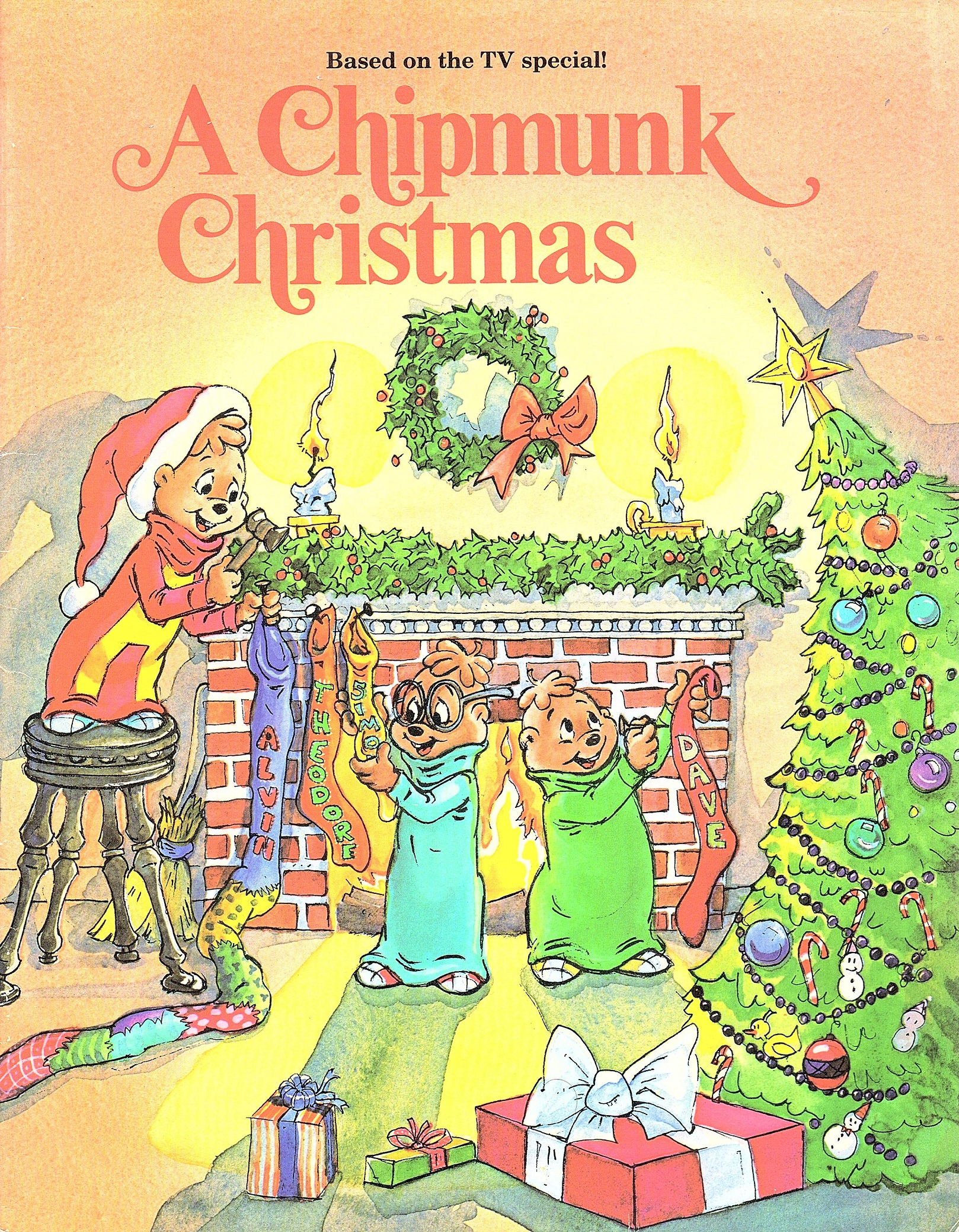 Alvin And The Chipmunks Christmas.A Chipmunk Christmas Book Alvin And The Chipmunks Wiki