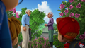 The Chipmunks eavesdropping on Russell and Miss Croner's conversation.png