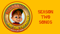 ALVINNN!!! Season Two Songs Card