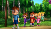 The Chipmunks and Chipettes in I Will Survive