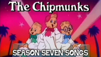The Chipmunks Season Seven Songs Card