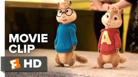 Alvin and the Chipmunks The Road Chip Movie CLIP - Real Smooth