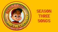 ALVINNN!!! Season Three Songs Card