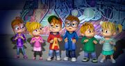 The Chipmunks and Chipettes in Simsky